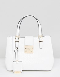 Carvela Mini Slouch Tote Bag White Oth