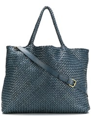 Officine Creative Large Class 3 Tote Bag Blue