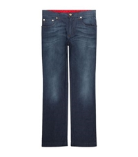 Billionaire Embroidered Logo Format Fit Jeans