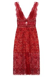 For Love And Lemons Cocktail Dress Party Dress Rouge Red