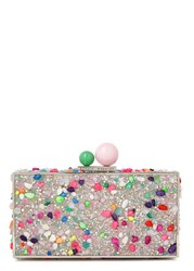 Sophia Webster Clara Embellished Box Clutch Multicoloured