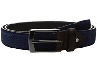 Bugatchi Milan Blue Men's Belts
