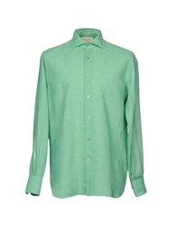 Mazzarelli Shirts Green