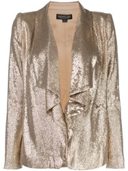 Rachel Zoe Draped Sequin Blazer 60
