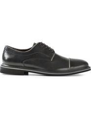 Paul And Joe Zip Trim Derby Shoe Black