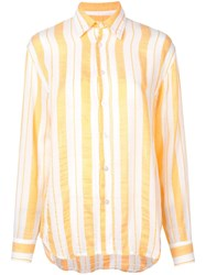 Lemlem Doro Shirt Yellow