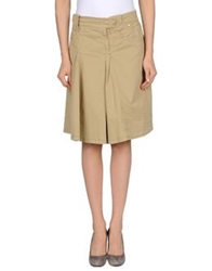 Sportmax Code Knee Length Skirts Beige