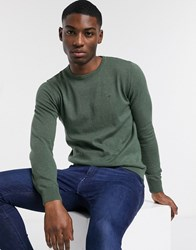 Tom Tailor Basic Crew Neck In Green