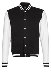 Urban Classics Summer Jacket Black White