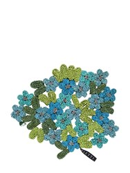 Seletti Forget Me Not Straw Trivet