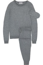 Equipment The Morgan Knitted Travel Set Gray