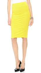 5Th And Mercer Pencil Skirt Neon Yellow