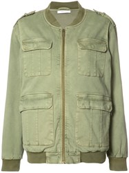 Anine Bing Army Jacket Green