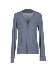Messagerie Knitwear Cardigans Men Sky Blue