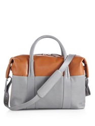 Maison Martin Margiela Sailor Leather Tote Tan Grey
