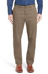 Nordstrom Men's Big And Tall Men's Shop Bedford Slim Leg Chinos Olive Ivy
