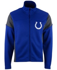 G3 Sports Men's Indianapolis Colts Draw Play Jacket Blue Charcoal