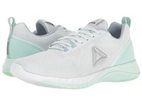 Reebok Print Run 2.0 Polar Blue Gable Grey Mist Mint Green White Silver Women's Running Shoes