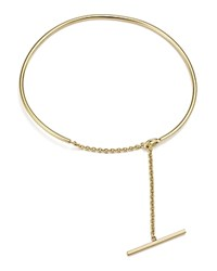 Zoe Chicco 14K Yellow Gold Wire And Toggle Chain Cuff