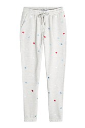 Zoe Karssen Embroidered Sweatpants With Cotton Gr. Xs