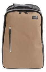 Men's Jack Spade Canvas And Leather Backpack