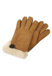 Ugg Bailey Gloves Chestnut Cognac