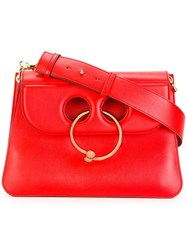 J.W.Anderson 'Piercing' Shoulder Bag Red