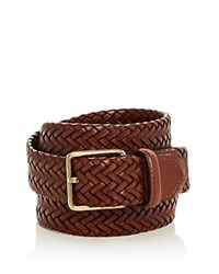 Cole Haan Woven Stretch Leather Belt Woodbury