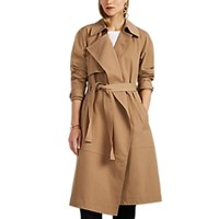 A.L.C. Connery Trench Coat Beige Tan