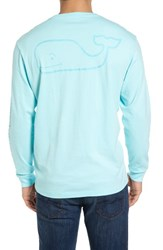 Vineyard Vines Men's Pocket Long Sleeve T Shirt Sour Apple