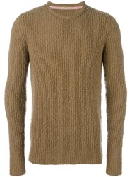 Nuur Crew Neck Jumper Nude And Neutrals