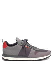 Paul Smith Rappid Recycled Mesh Trainers Grey