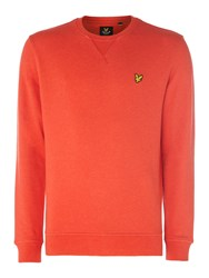 Lyle And Scott Men's Crew Neck Sweatshirt Red