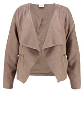 Junarose Jremerson Faux Leather Jacket Fossil Beige