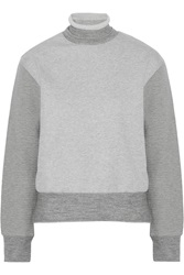 Sandro Toya Cotton Blend Sweatshirt