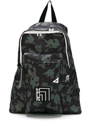 Haus Camouflage Backpack Green