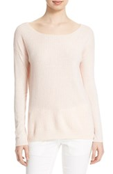 Women's Soft Joie 'Jelisa' Ribbed Pullover Heather Pale Pink