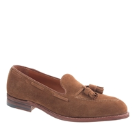 Alden For J.Crew Suede Tassel Loafers Snuff