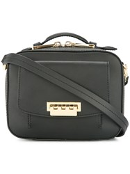Zac Posen Earthette Small Box Bag Black