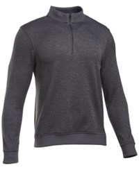 Under Armour Men's Quarter Zip Storm Fleece Sweater Carbon Heather