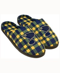 Forever Collectibles St. Louis Blues Flannel Slide Slippers
