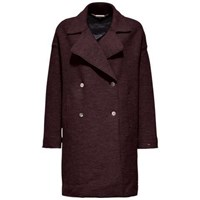 Tommy Hilfiger Rider Boiled Wool Coat Red