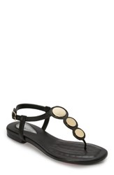 Foot Petals Ellie Sandal Black Leather