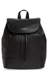 State Bags Parkville Hattie Leather Backpack Black
