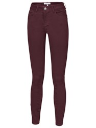 Fat Face Twill Jeggings Prune