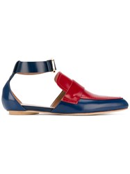Marni Loafer Slippers Blue