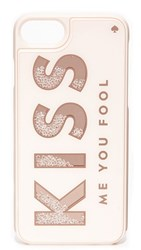 Kate Spade New York Kiss Me You Fool Iphone 7 Case Rose Gold