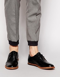 Frank Wright Busby Derby Shoes Black