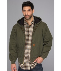 Carhartt Big Tall Qfl Sandstone Active Jacket Army Green Men's Jacket