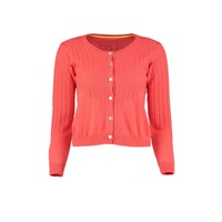 Lowie Cashmere Blend Cardigan In Coral